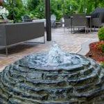 Fountains in Jonesborough, Tennessee